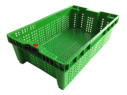 caja perforada anidable para fruta y verdura