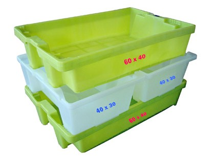 40×30 and 60×40 crates picking