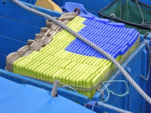 Custom-made ship hold boards