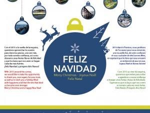 El equipo de TEPSA os desea Felices Fiestas