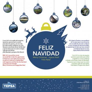 Felicitación navideña TEPSA