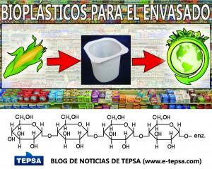bioplasticos degradables como alternativa a los plasticos tradicionales en evases alimentarios