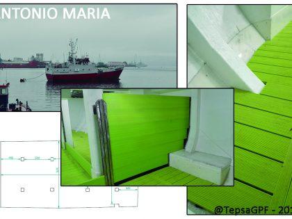 """Acondicionamiento de barcos pesqueros: """"Buque Abrela"""" y """"Antonio María"""""""