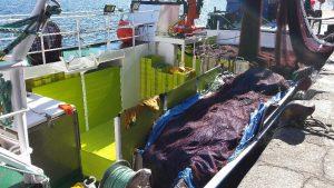 Cajonada de plástico barco novo cazador