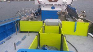 Cajonada de cubierta de pesquero Gamecho