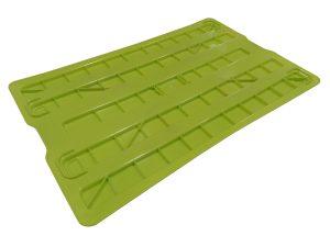 Tapa de plástico para caja de 60x40 cm