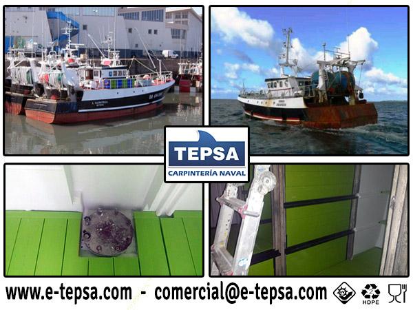 Albatros y Sanaga apuestan por Carpinteria Naval TEPSA