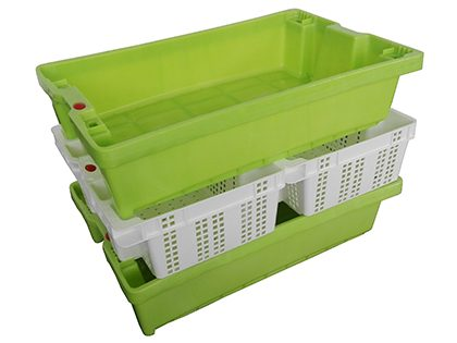 60×40 and 40×30 cm crates picking