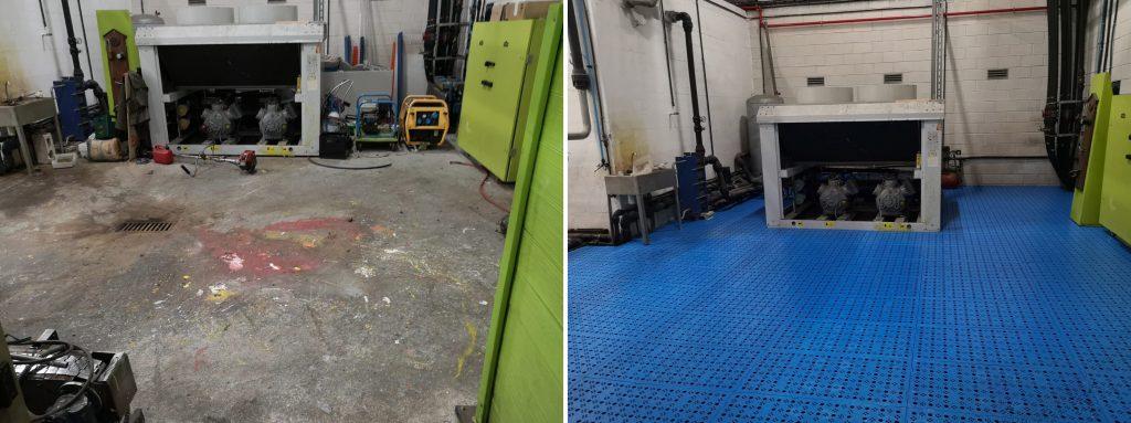 suelo de PVC fácil de instalar