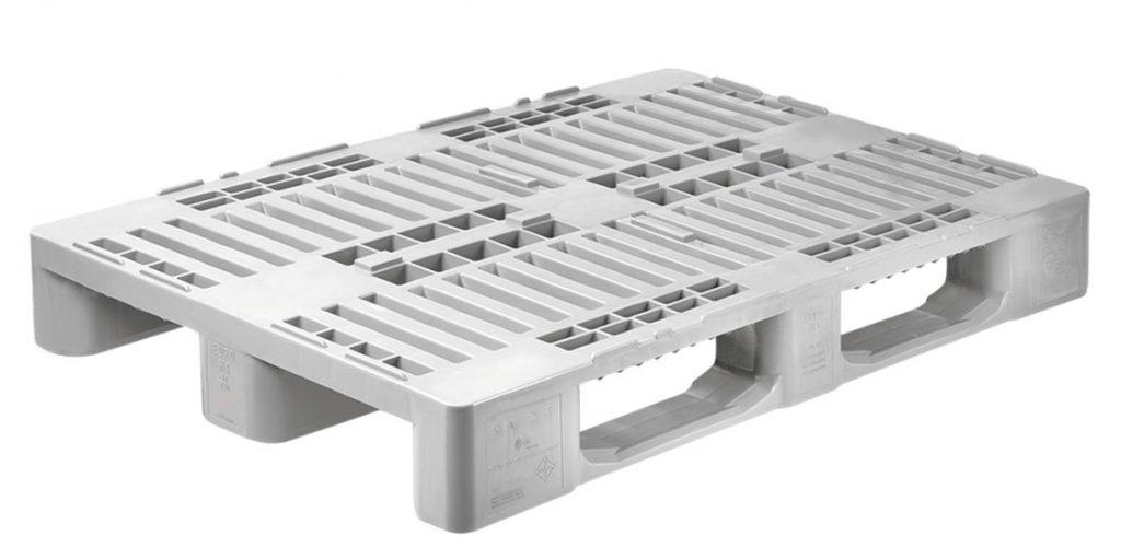 Palet gris modelo H1 para industria carnica