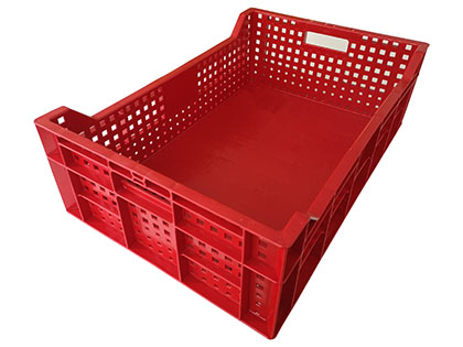 E2 crate solid base cut top