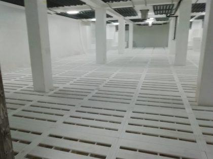 Montaje de suelos de bodega para Astilleros Armon