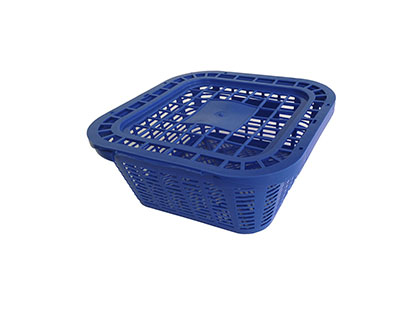 cesto de marisco pequeño con tapa