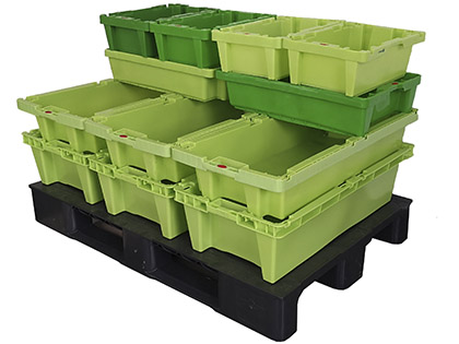 Euro Stacking boxes for fish