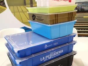 Go to reusable packaging with the new TEPSA Mini crates