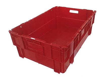 50% nestable E2 meat box
